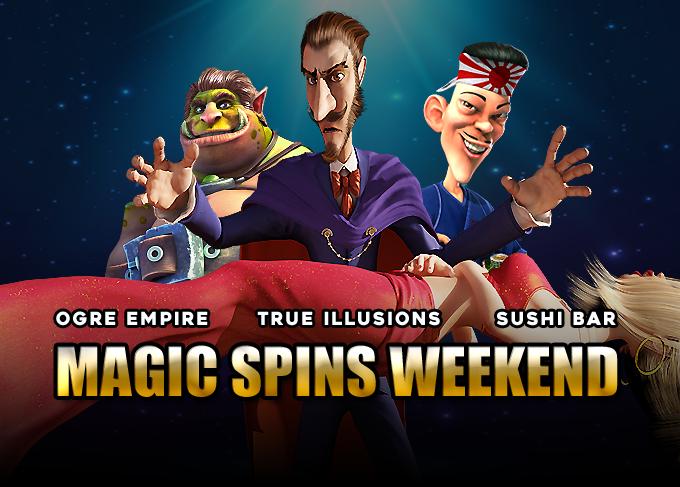 Magic Spins Weekend Our Biggest Weekend Yet Slotpartners